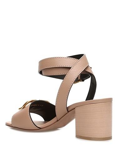 Valentino Garavani Sandalet Pudra